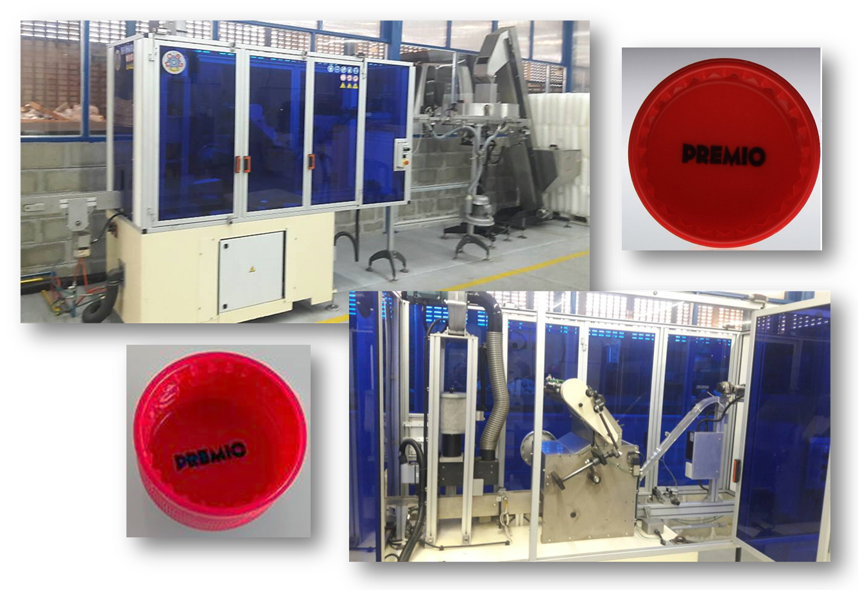 MOSS - Equipo Impresion Offset para Tapas Plasticas